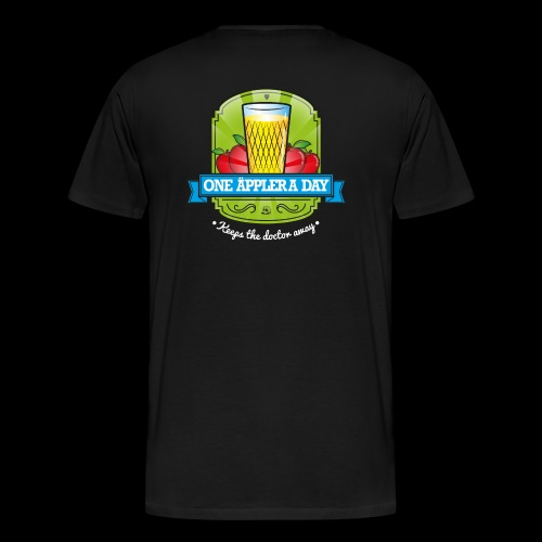 One Äppler a day Kapuzenjacke - Männer Premium T-Shirt