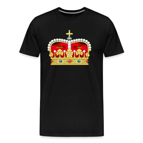 crown2 png - Men's Premium T-Shirt