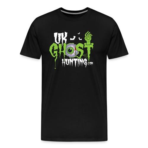 UK Ghost Hunting Eyball Logo - Men's Premium T-Shirt