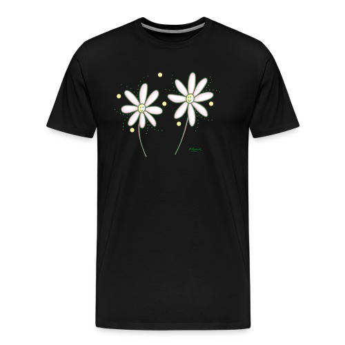 marguerites - T-shirt Premium Homme
