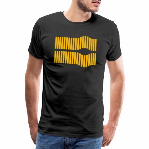 Pulso reflejado - Camiseta premium hombre