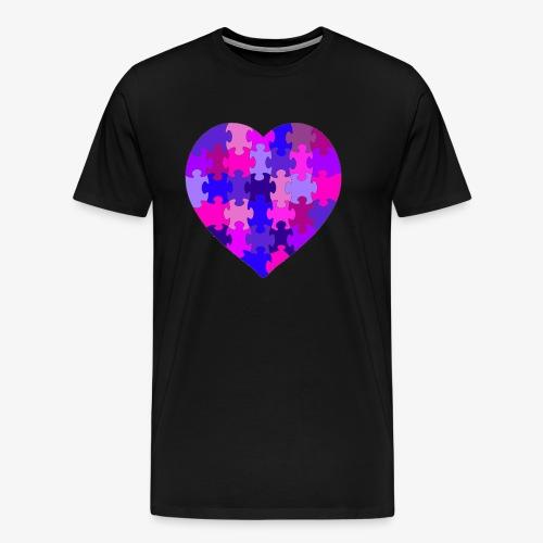Purple Heart - Männer Premium T-Shirt