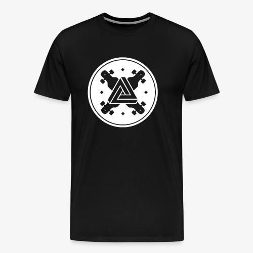 The Symbol of Longboarding - Männer Premium T-Shirt