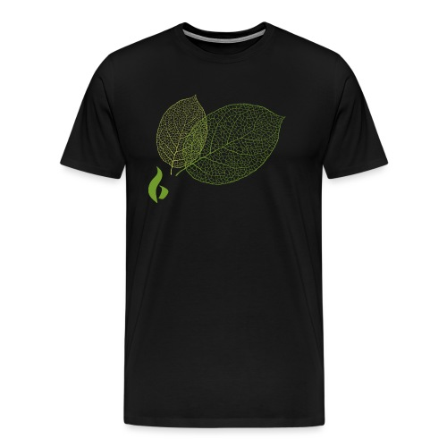 Blätter HD png - Männer Premium T-Shirt