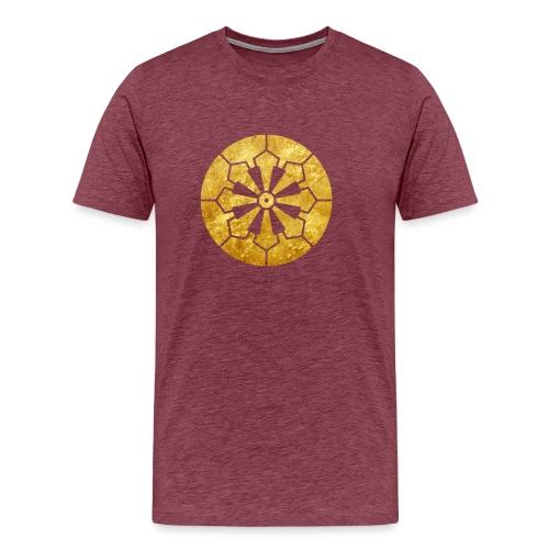 Sanja Matsuri Komagata mon gold - Men's Premium T-Shirt