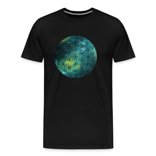 FlowerOfLife Cool - Mannen Premium T-shirt