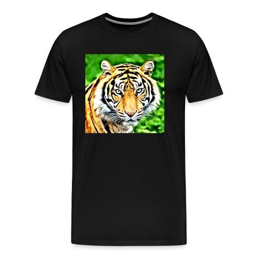 tigre - Maglietta Premium da uomo