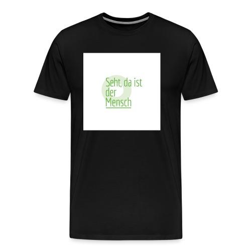 KT-Leipzig_Leitwort-pos-V - Männer Premium T-Shirt