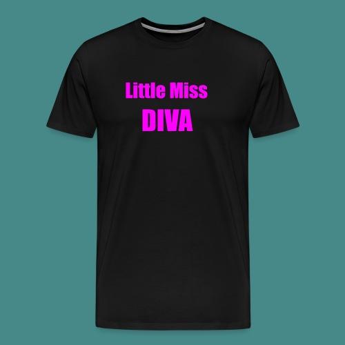 Little Miss Diva - Baby - Men's Premium T-Shirt
