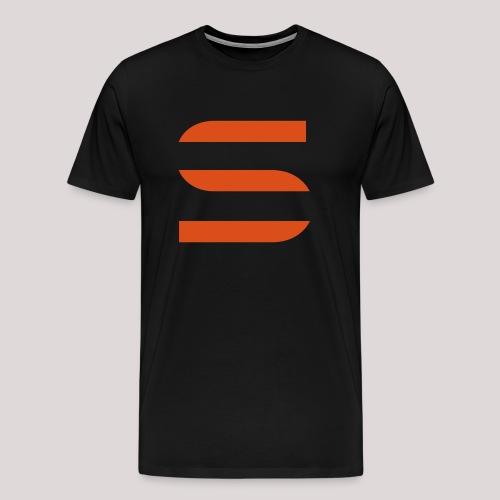 Trainingsjacke - vorne - Männer Premium T-Shirt