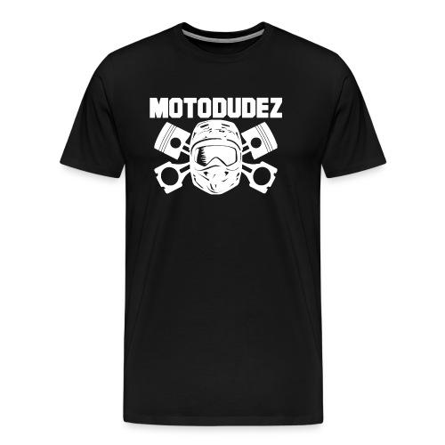 Beutel MOTODUDEZ - Männer Premium T-Shirt