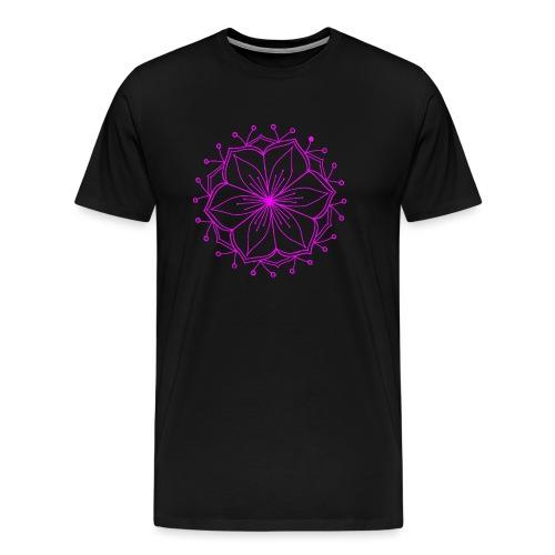 Pink Lotus Mandala - Men's Premium T-Shirt
