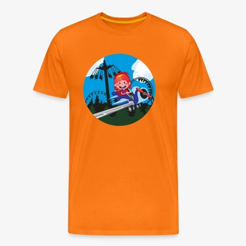 Themeparkrides - Airplanes - Mannen Premium T-shirt