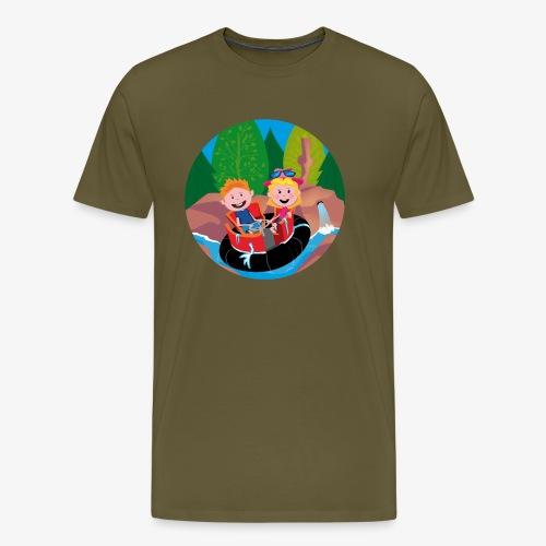 Themepark: Rapids - Mannen Premium T-shirt