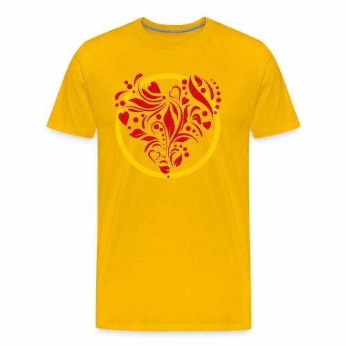 Herzemblem - Männer Premium T-Shirt