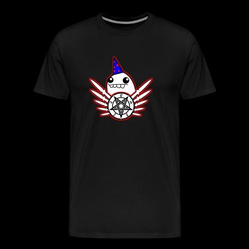 Speedcore Henk MC Logo 2 - Mannen Premium T-shirt
