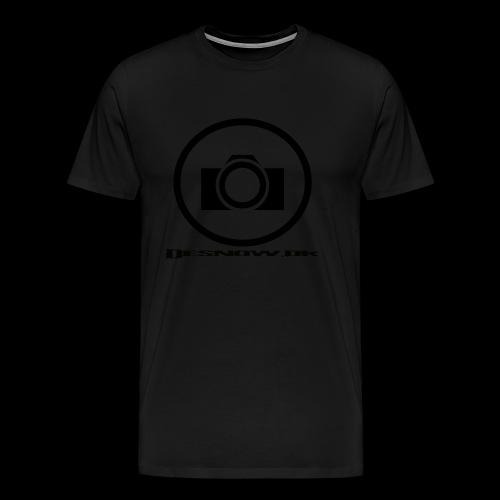 sort2 png - Herre premium T-shirt