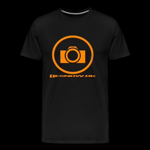 Orange 2 png - Herre premium T-shirt