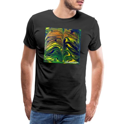 TIAN GREEN Mosaik DE029 - Lebensbaum - Männer Premium T-Shirt