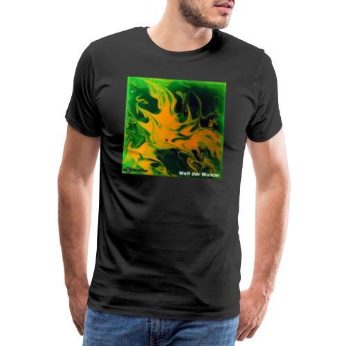 TIAN GREEN Mosaik DE002 - Welt der Wunder - Männer Premium T-Shirt