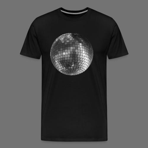 Mirror Ball Mirror Ball Sølv - Herre premium T-shirt