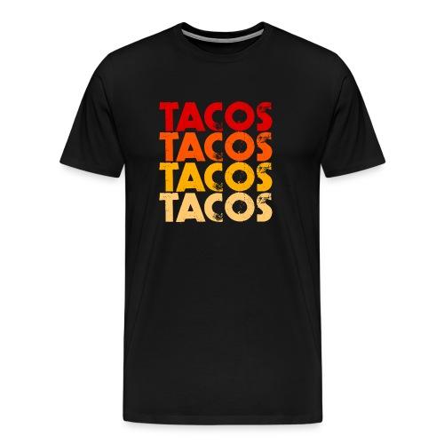 Tacos - Männer Premium T-Shirt