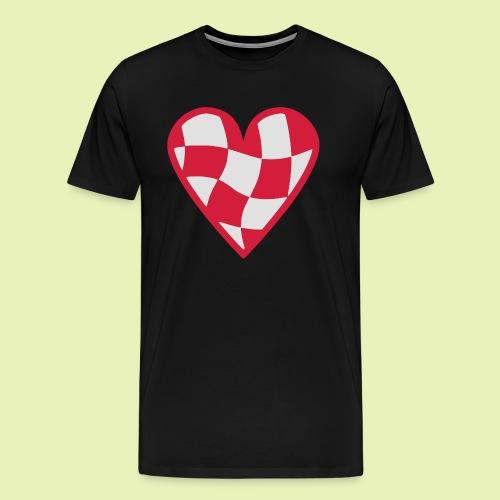 Brabant hart - Mannen Premium T-shirt