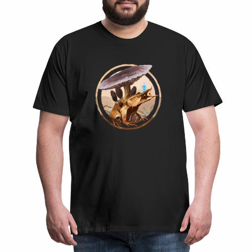 Frog and Fungi Design - Männer Premium T-Shirt