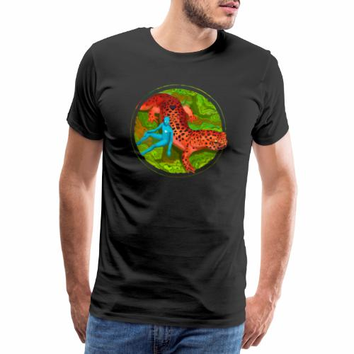 Fiersalamander with fairy - Männer Premium T-Shirt