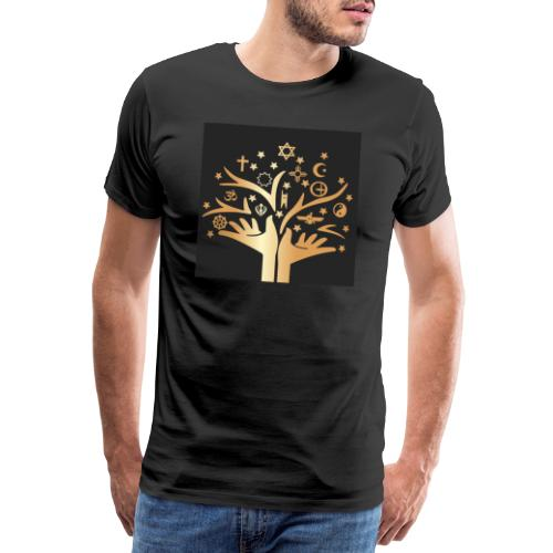 Religion for all. - Men's Premium T-Shirt