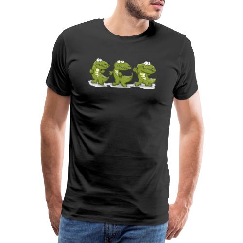 Nice krokodile - Männer Premium T-Shirt