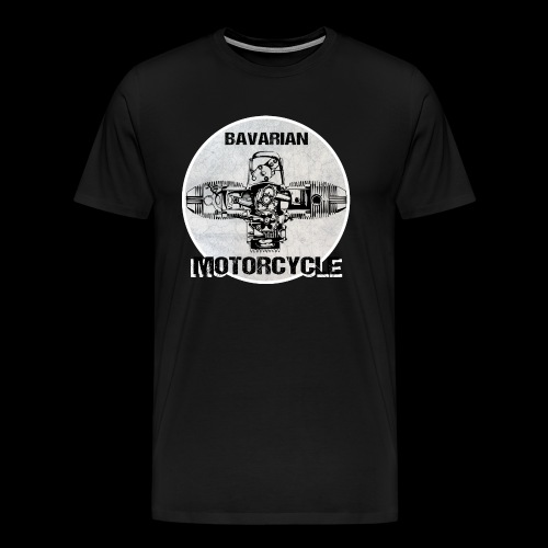 Bavarian Motorcycle Boxermotor - Männer Premium T-Shirt