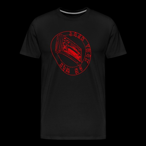 Jack Trax on Wax RED - Men's Premium T-Shirt
