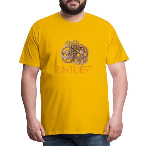 Zahnräder shirt - Männer Premium T-Shirt