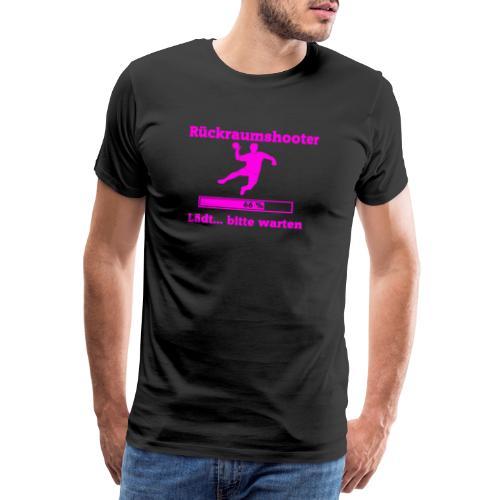 Rückraumshooter loading - Männer Premium T-Shirt
