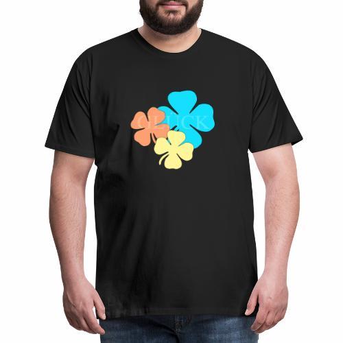 Design Glueck - Männer Premium T-Shirt