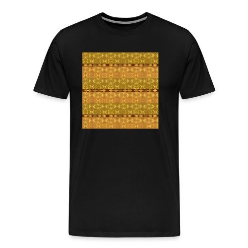 ethnico disegno. motivo geometrico - Maglietta Premium da uomo