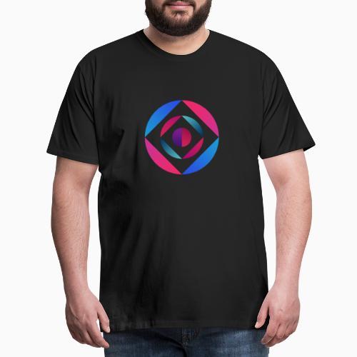 Bi Circle - Men's Premium T-Shirt
