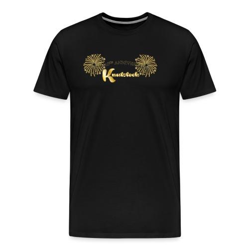 KnutstockAnniversaryLogo Firework - Männer Premium T-Shirt