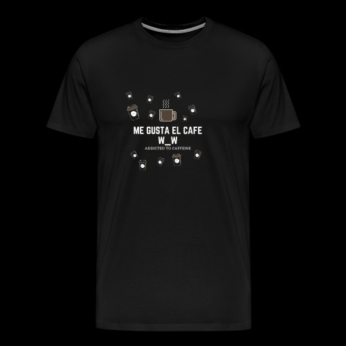 café caliente - Camiseta premium hombre