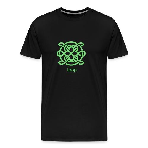 Loop spirituell unendlich Anfang Ende Karma - Männer Premium T-Shirt