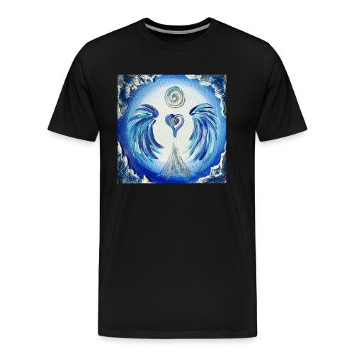 Herzengel der Entscheidung - Männer Premium T-Shirt
