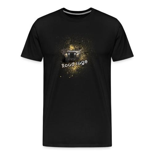 Road Rage Royals - Mannen Premium T-shirt
