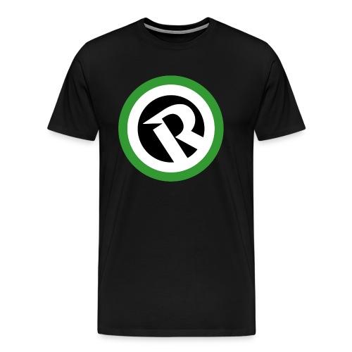 Logo Reborn Green Flat - Men's Premium T-Shirt