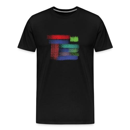 Farben von meine kleine Prinzessin - Männer Premium T-Shirt