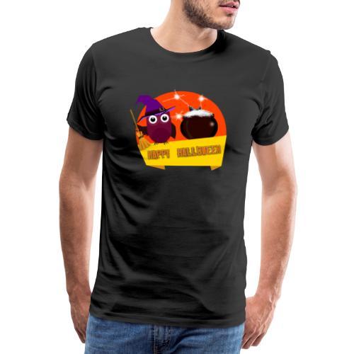 T-shirt rigolo gothique Halloween Hibou de Cuisine - T-shirt Premium Homme