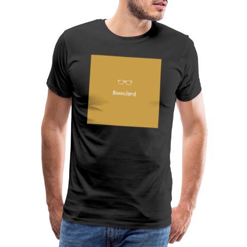 Binoclard Jaunes - Marron - T-shirt Premium Homme