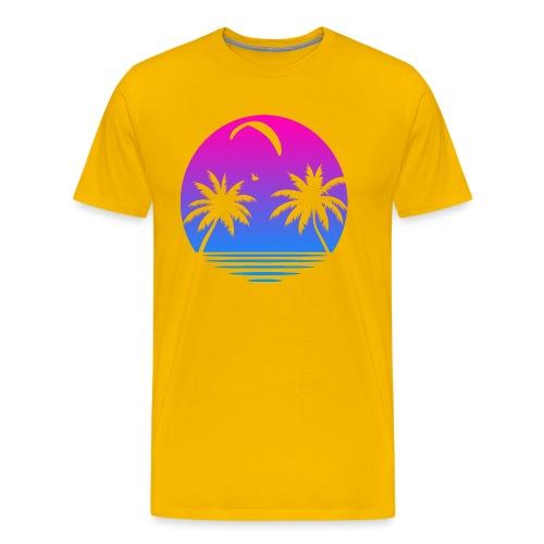 Paragliding Sunset - Männer Premium T-Shirt