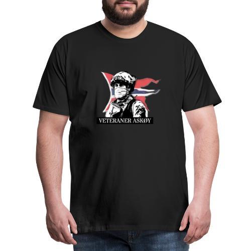 Veteraner Askøy - Premium T-skjorte for menn