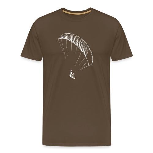 paraglider gerlitzen weiss - Männer Premium T-Shirt